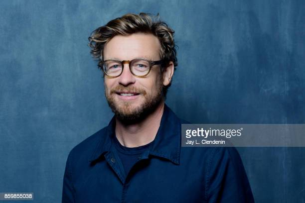 Director Simon Baker from the film 'Breath' poses for a portrait at the 2017 Toronto International Film Festival for Los Angeles Times on September...