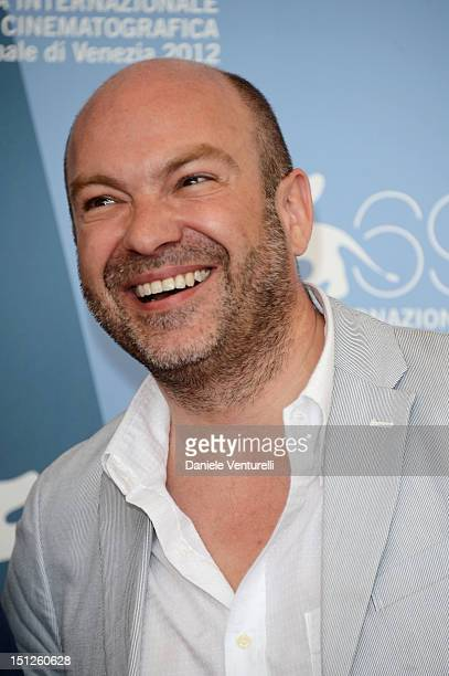 Director Simon Brook attends 'The Tightrope' Photocall during The 69th Venice Film Festival at the Palazzo del Casino on September 5 2012 in Venice...