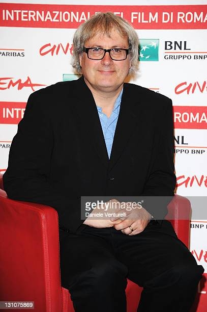 """Director Simon Curtis attends the """"My Week With Marylin"""" Photocall during the 6th International Rome Film Festival at Auditorium Parco Della Musica..."""