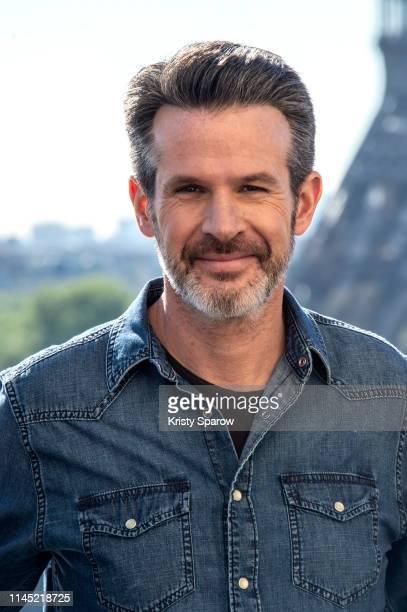 "Director Simon Kinberg attends the ""X-Men Dark Phoenix"" Photocall At Cafe De L'Homme on April 26, 2019 in Paris, France."