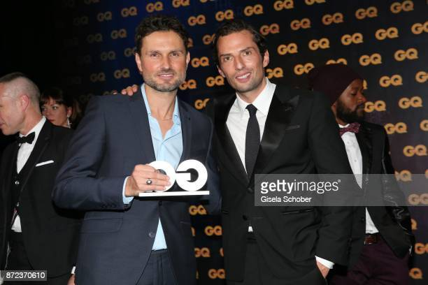 Director Simon Verhoeven and producer Quirin Berg during the show of the GQ Men of the year Award 2017 at Komische Oper on November 9 2017 in Berlin...
