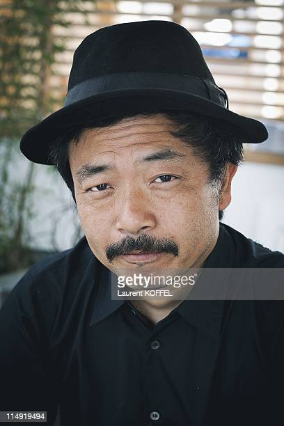 Director Sion Sono of the film Guilty Of Romance poses during a portrait session during the 64th Cannes Film Festival on May 19 2011 in Cannes France