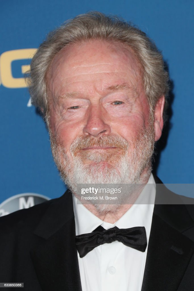 Director Sir Ridley Scott attends the 69th Annual Directors Guild of America Awards at The Beverly Hilton Hotel on February 4, 2017 in Beverly Hills, California.