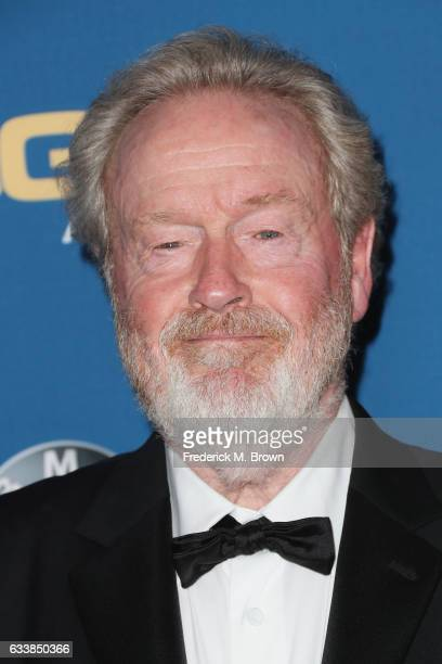 Director Sir Ridley Scott attends the 69th Annual Directors Guild of America Awards at The Beverly Hilton Hotel on February 4 2017 in Beverly Hills...