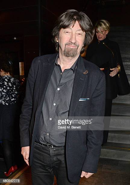 Director Sir Trevor Nunn attends an after party celebrating the press night performance of 'Fatal Attraction' at Mint Leaf Restaurant on March 25...