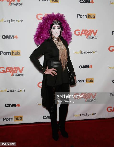 Director Sister Roma attends the 2018 GayVN Awards show at The Joint inside the Hard Rock Hotel Casino on January 21 2018 in Las Vegas Nevada