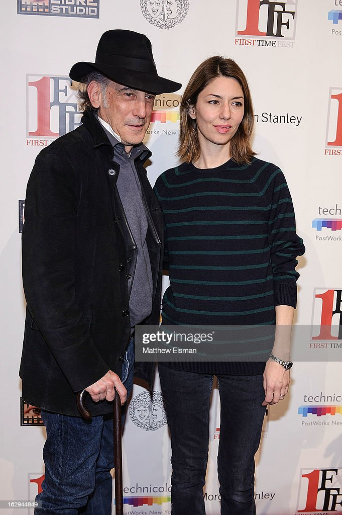 Director Sofia Coppola (R) and cinematographer Ed Lachman attend the 'The Virgin Suicides' as part of the First Exposure Series during the 2013 First Time Fest at AMC Loews Village 7 on March 1, 2013 in New York City.
