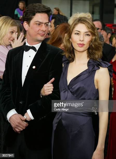 Director Sofia Coppola and her brother attend the 76th Annual Academy Awards at the Kodak Theater on February 29, 2004 in Hollywood, California.