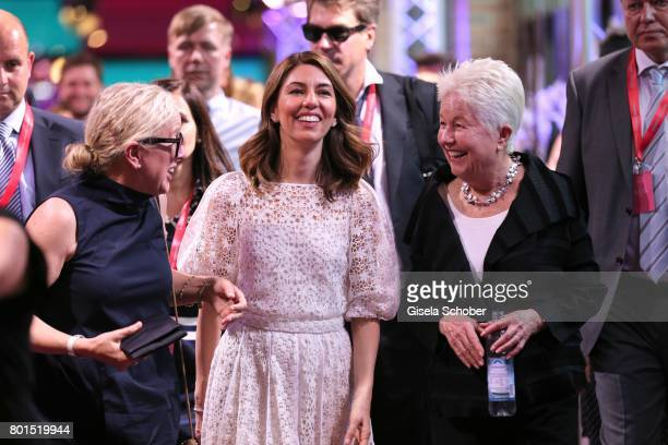 Director Sofia Coppola and her mother Eleanor Coppola attend the premiere of the movie 'Die Verfuehrten' during the film festival Munich at Gasteig...