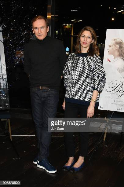 Director Sofia Coppola and photographer Andrew Durham attend the promotional event for 'The Beguiled' at Tsutaya Roppongi bookstore on January 18...