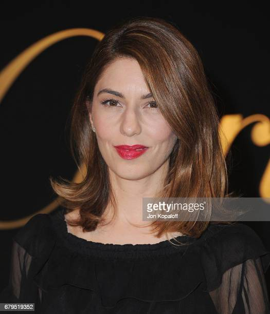 Director Sofia Coppola arrives at the Panthere De Cartier Party In LA at Milk Studios on May 5 2017 in Los Angeles California