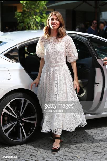 Director Sofia Coppola arrives to the premiere of the movie 'Die Verfuehrten' during the film festival Munich at Gasteig on June 26 2017 in Munich...