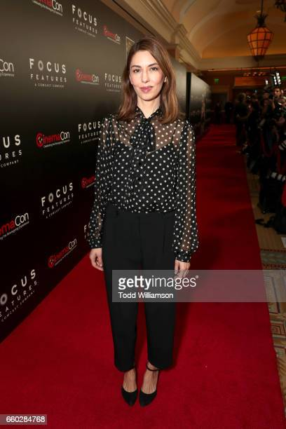 Director Sofia Coppola at CinemaCon 2017 Focus Features Celebrating 15 Years and a Bright Future at Caesars Palace during CinemaCon the official...