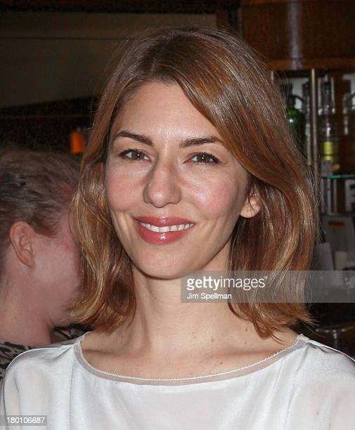 Director Sofia Coppola attends 'M·A·C Antonio' Collection Launch Event at The Odeon on September 8 2013 in New York City