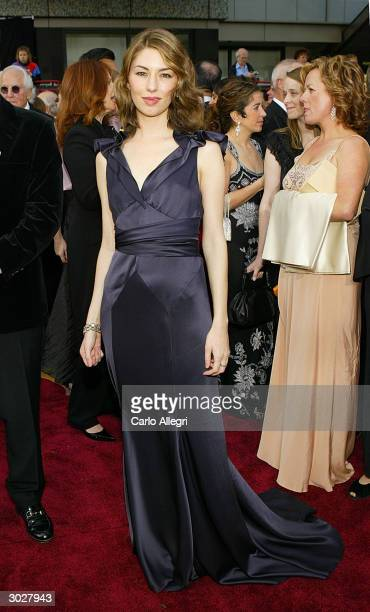 Director Sofia Coppola attends the 76th Annual Academy Awards at the Kodak Theater on February 29, 2004 in Hollywood, California.