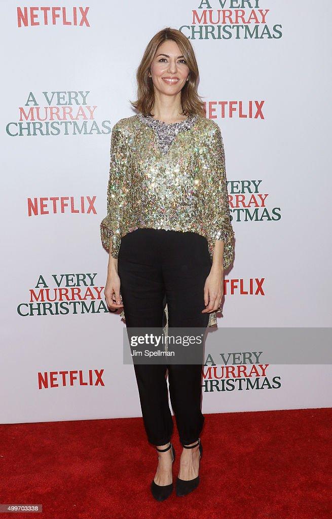 """""""A Very Murray Christmas"""" New York Premiere : News Photo"""