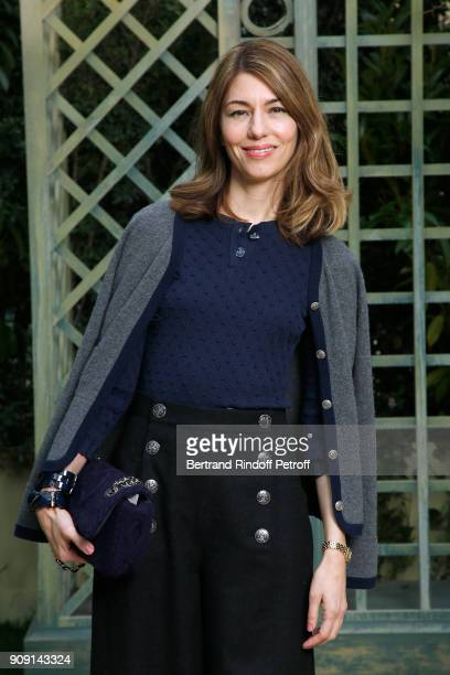 Director Sofia Coppola attends the Chanel Haute Couture Spring Summer 2018 show as part of Paris Fashion Week on January 23 2018 in Paris France