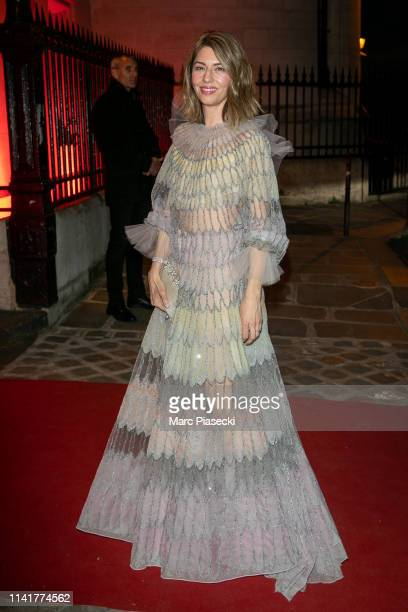 Director Sofia Coppola attends the 'Clash De Cartier' launch event outside arrivals at La Conciergerie In Paris on April 10 2019 in Paris France