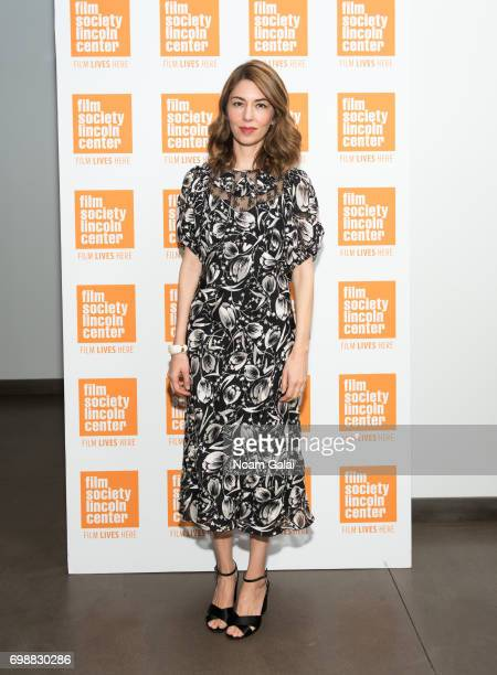 Director Sofia Coppola attends The Film Society of Lincoln Center's 'Evening With Sofia Coppola' at Walter Reade Theater on June 20 2017 in New York...