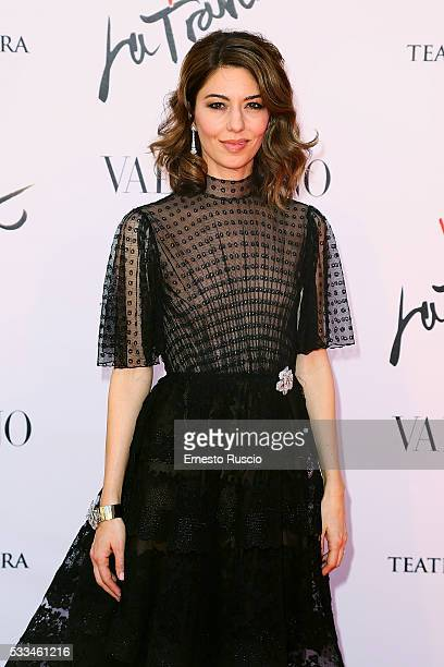 Director Sofia Coppola attends the 'La Traviata' Premiere at Teatro Dell'Opera on May 22 2016 in Rome Italy