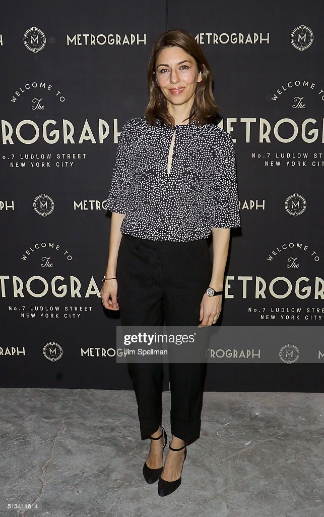 Director Sofia Coppola attends the Metrograph opening night at Metrograph on March 2, 2016 in New York City.