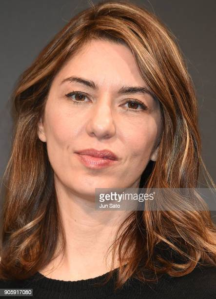 Director Sofia Coppola attends the premier event for 'The Beguiled' at Lumine Zero Hall on January 17 2018 in Tokyo Japan