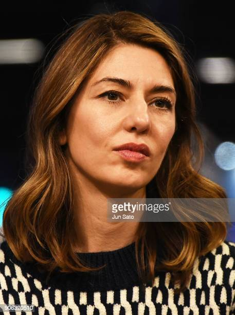 Director Sofia Coppola attends the promotional event for 'The Beguiled' at Tsutaya Roppongi bookstore on January 18 2018 in Tokyo Japan