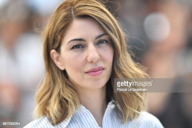 Director Sofia Coppola attends the 'The Beguiled' photocall during the 70th annual Cannes Film Festival at Palais des Festivals on May 24 2017 in...