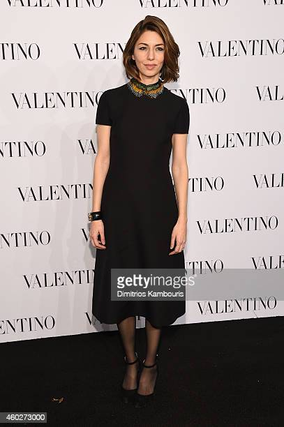 Director Sofia Coppola attends the Valentino Sala Bianca 945 Event on December 10 2014 in New York City