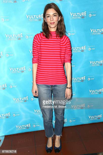 Director Sofia Coppola attends the Vulture Festival Los Angeles at the Hollywood Roosevelt Hotel on November 18 2017 in Hollywood California