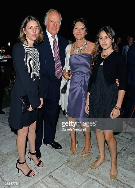 Director Sofia Coppola Nicola Bulgari Beatrice Bulgari and Ginevza Bulgari attend the Bulgari And W Magazine Celebrate The 67th Venice Film Festival...