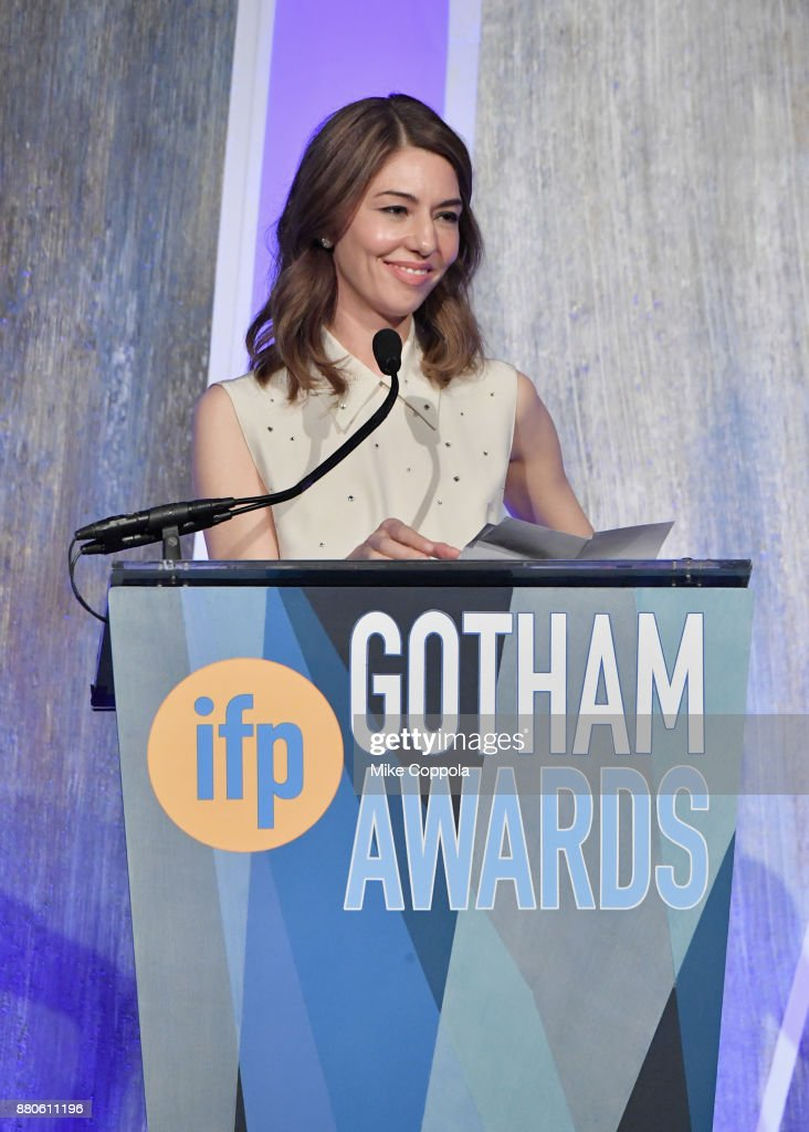 Director Sofia Coppola speaks onstage during IFP's 27th Annual Gotham Independent Film Awards on November 27, 2017 in New York City.