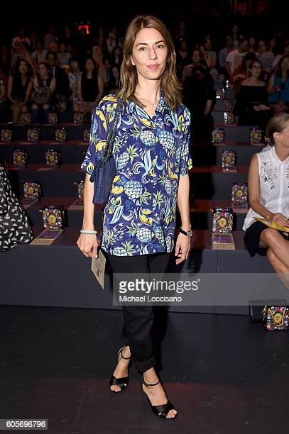 Director Sophia Coppola attends the Anna Sui fashion show during New York Fashion Week The Shows at The Arc Skylight at Moynihan Station on September...