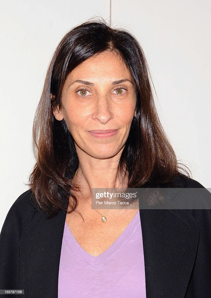 Director Sophie Lellouche attends a photocall for 'Paris - Manhattan' on October 9, 2012 in Milan, Italy.