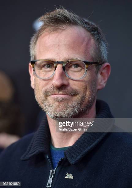 Director Spike Jonze arrives at Teton Gravity Research's 'Andy Irons Kissed by God' World Premiere at Regency Village Theatre on May 2 2018 in...