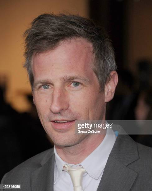 Director Spike Jonze arrives at the Los Angeles premiere of 'Her' at Directors Guild Of America on December 12 2013 in Los Angeles California