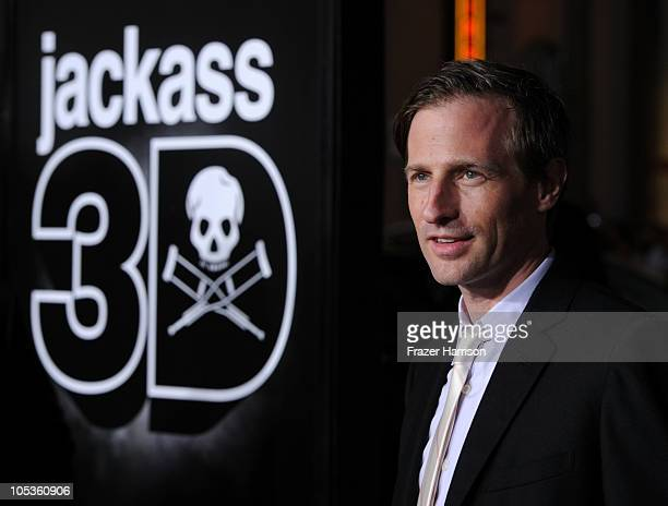Director Spike Jonze arrives at the premiere of Paramount Pictures and MTV Films' 'Jackass 3D' at the Mann's Chinese Theater on October 13 2010 in...