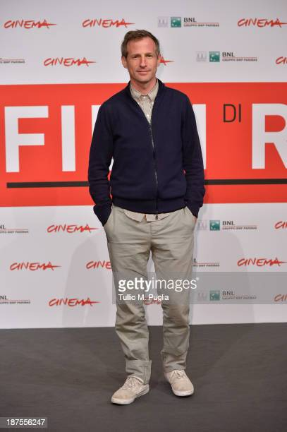 Director Spike Jonze attends the 'Her' Photocall during the 8th Rome Film Festival at the Auditorium Parco Della Musica on November 10 2013 in Rome...
