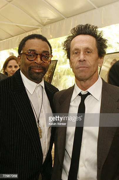 Director Spike Lee and producer Brian Grazer pose for photos during the arrivals at the 7th Annual AFI Awards luncheon held at the Four Seasons Hotel...