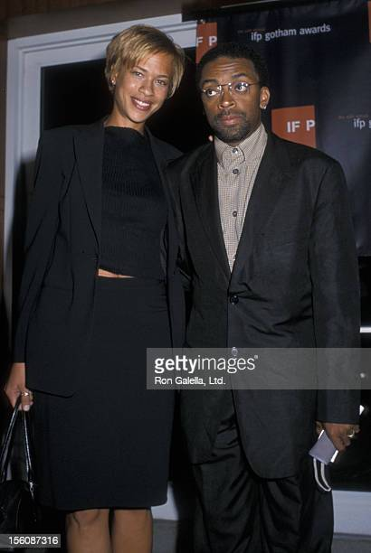 Director Spike Lee and sister Joi Lee attending 10th Annual IFPGotham Awards on September 20 2000 at Pier 60 at Chelsea Piers in New York City New...