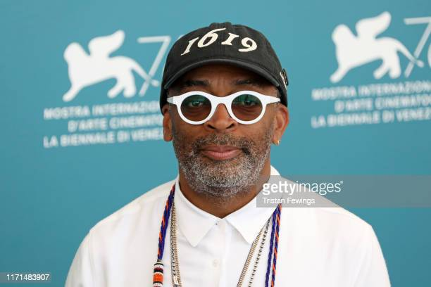 "Director Spike Lee attends ""American Skin"" photocall during the 76th Venice Film Festival at Sala Grande on September 01, 2019 in Venice, Italy."