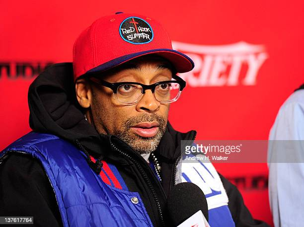 Director Spike Lee attends Day 3 of the Variety Studio at the 2012 Sundance Film Festival on January 23, 2012 in Park City, Utah.