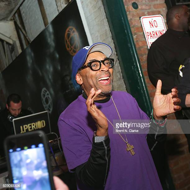 Director Spike Lee attends 'PRINCE We Love You Shockadelica Joint A Celebration of His Life' on April 21 2016 in Brooklyn New York Prince died...