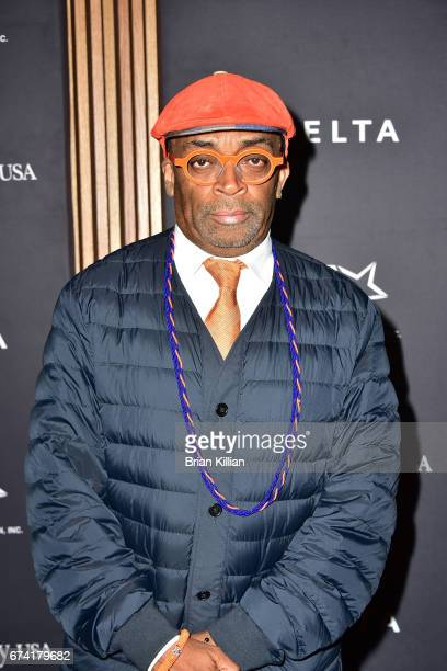 Director Spike Lee attends the 2017 Jesse Owens International Athlete Trophy Gala at Jazz at Lincoln Center on April 27 2017 in New York City