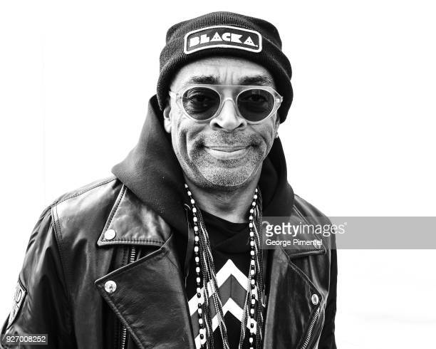 Director Spike Lee attends the 2018 Film Independent Spirit Awards on March 3 2018 in Santa Monica California