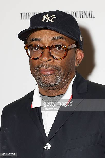 """Director Spike Lee attends the 25th anniversary screening of """"Do The Right Thing"""" at the closing night of the 2014 BAMcinemaFest at BAM Harvey..."""