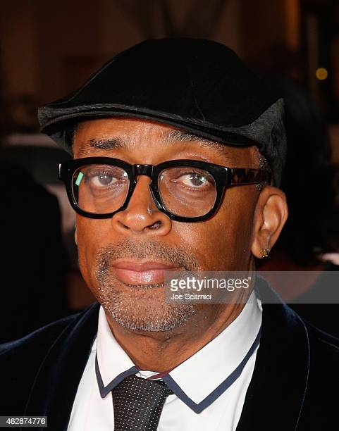 Director Spike Lee attends the 46th NAACP Image Awards presented by TV One at Pasadena Civic Auditorium on February 6 2015 in Pasadena California