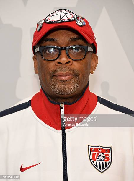 Director Spike Lee attends the AMPAS screening of '25th Hour' in conjunction with the 'WAKE UP David C Lee Photographs of the films of Spike Lee'...