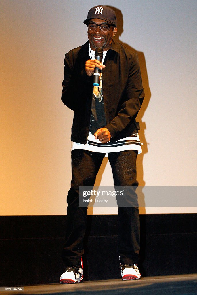 Director Spike Lee attends the 'Bad 25' Premiere at the 2012 Toronto International Film Festival at Ryerson Theatre on September 15, 2012 in Toronto, Canada.