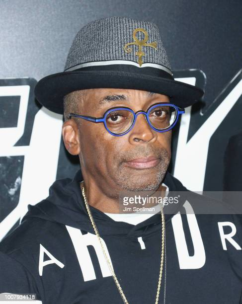 Director Spike Lee attends the 'BlacKkKlansman' New York premiere at Brooklyn Academy of Music on July 30 2018 in New York City